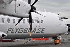 FLYGBRA.SE (A380spotter) Tags: avionsdetransportrgional leonardo airbusgroup atr72 600 fwweh semke flygbrase brabraathensregionalairlinesab brx dc staticdisplay fia16 sbacfarnboroughinternationalairshow2016 taglondonfarnboroughairport eglf fab