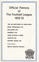 League Football - 1972/73 - Page 22 (The Sky Strikers) Tags: green les football review 12 1972 1973 league fa association volume