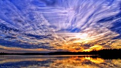 Cloud Confusion (Bob's Digital Eye) Tags: bobsdigitaleye cloud clouds flicker flickr lakescape landscape outdoors sky sunset sunsetsoverwater laquintaessenza outdoor
