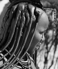 Himba (silviasalvi) Tags: africa namibia people portrait bw woman himba africanpeople