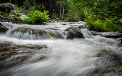 Glacier Creek Cascades (cbjphoto) Tags: park mountain creek river landscape photography colorado scenic rocky falls glacier national cascades carljackson