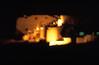 Ägypten 1999 (300) Karnak-Tempel: 1. Pylon (Rüdiger Stehn) Tags: nachtaufnahme karnaktempel tempel tempelanlage tempelvonkarnak afrika ägypten egypt nordafrika 1999 winter urlaub dia analogfilm scan slide 1990er oberägypten 1990s südägypten aṣṣaʿīd diapositivfilm analog kbfilm kleinbild canoscan8800f canoneos500n 35mm luxor misr مصر altägypten altertum archäologie antike unescowelterbe unescoweltkulturerbe welterbe weltkulturerbe tempeldesamunre pylon statue bauwerk historischesbauwerk sakralbau amunrebezirk archäologischefundstätte ägyptologie karnak ruine theben thebenost الأقصر aluqṣur reise reisefoto soundandlightshow
