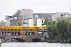Berlin (annamartta) Tags: berlin city citybreak street houses trees bridge tube