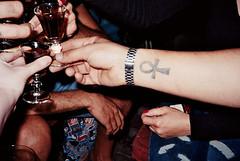 #canonaf35ml (ceyda kilinc) Tags: canon canonaf35ml shadow tatttoo alcohol drink cheers jager sureshot street streetphotography 35mm man 200asa night photography people hands analogue analog autofocus film filmisnotdead filmphotography filmmachine focus