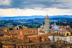 Siena (Arutemu) Tags: 28300 6d canon eos6d eu europe italia italy siena tamron tamron28300 torredelmangia toscana tuscany city cityscape landscape medieval renaissance view ville zoom it