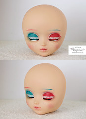 komplett (Mikiyochii) Tags: doll dolls custom repaint faceup makeover pullip tanned mio pullips groove