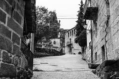 The rise to the past (jcfasero) Tags: galicia galiza santuario sanctuary outdoor street sphotography ngc bw blackwhite ourense espaa spain landscape