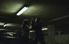 Headlights (fraser_west) Tags: dance dancers london music film 35mm analog video fujifilm 800 car carpark underground canon musicvideo cinematic filmisnotdead filmisgod tones relationship move dark grainy people 2016 love ilovefilm setlife