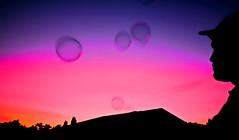 real illusion (Sebastian Schmeinck) Tags: color sky red purple blue orange outdoor dream landscape abstract minimal shadow schatten dark darkness art canon eos soap bubble illusion