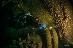 Triple Expansion Steam Engine (garrelf) Tags: 2016 adria ccr explorationweek pascoli premuda wrack wreck wreckdiving wracktauchen schiffswrack maschinenraum gue trimix rebreather jjccr