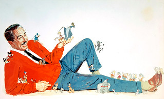 Walt Disney and Friends by Paul Wenzel, 1963