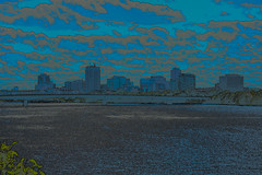Gatineau skyline (runningman1958) Tags: 365 365dayproject nikon d7200 nikond7200 gatineau skyline gatineauskyline photoshop d7200specialeffects