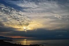 Illuminati (lefotodiannae) Tags: lefotodiannae mare alba liguria nuvole cielo paesaggio sole luce