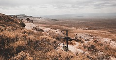 ✞✞✞ (- Anthony Papa -) Tags: anthony papa photos tumblr vintage matte film digital amazing wyoming cross long depth composition canon5dmkii 24105mm sky clouds rural nature landscape photography digitalrev white art travel grave
