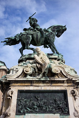 Statue of Prince Eugene of Savoy in Budapest (chrisdingsdale) Tags: statue monument sculpture prince eugene savoy budapest buda landmark historic structure artwork art equestrian hungary hungarian heritage historical sights attraction sightseeing horse relief war battle scene zenta national hero