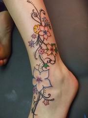 Tattoo-Ideen Für Frauen Auf Bein (tattooideen) Tags: bein frauen für tattooideen