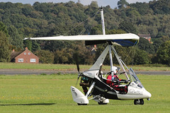 G-GAVH (QSY on-route) Tags: ggavh rotorsport uk gyro autogyro gyrocopter fly in 2016 wolverhampton halfpenny green egbo 02102016