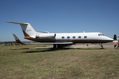 ZS-PYY (IndiaEcho Photography) Tags: africa 2 canon private eos airport general aircraft aviation south jet aeroplane civil ii biz johannesburg fala airfield gulfstream hla lanseria 1000d zspyy