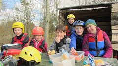 Canoe River Teith (matt_outandabout) Tags: kayak canoe teith
