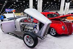 Lincoln Zephyr flat head V12 powered hot rod