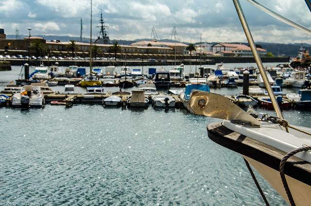 Puerto de Ferrol y ARSENAL