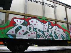 Freights (Thomas_Chrome) Tags: train suomi finland graffiti moving europe cargo illegal nordic freight vr freights