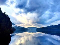 Im-perfections (e.bonomini) Tags: sky lake reflection clouds australia tasmania tullah lakeroseberry