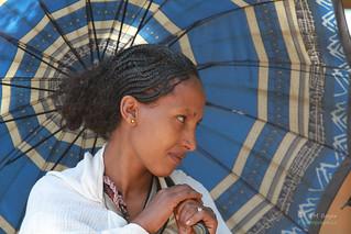 Éthiopienne a Lalibela