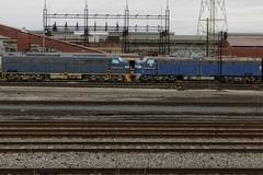 nose to nose (gman.light) Tags: ohio cleveland clevelandohio locomotive e9 e8 steelmill emd arcelormittal emde8 ctvx clevelandterminalandvalleyrailwayincorporated ctvx61 ctvx62