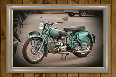 Douglas MK.V 350cc (BIKEPILOT, Thx for + 5,000,000 views) Tags: classic bike vintage airport transport motorbike redhill motorcycle vehicle airfield aerodrome 350cc douglasmkv