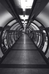 Embankment Underground Station. (London, UK)
