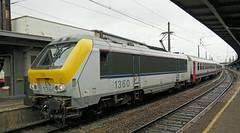 Brussel Midi, Brussel-Basel Trein, Class1360 (Nik Morris (van Leiden)) Tags: brussels loco locomotive midi alstom brussel nmbs sncb class1300 nx30