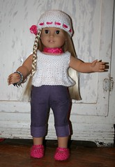 Elizabeth Grace is stylin' (Crazyquilter) Tags: knitting doll julie knit knitted beading americangirl stickatilbarbie275