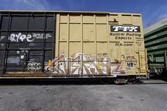 Nekst (Revise_D) Tags: bench graffiti msk graff dts d30 freight revised nekst fr8 a2m benching ripnekst fr8heaven nekstforever fr8bench benchingsteelgiants
