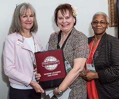 Janet Wasserman, Donna Komidar and Janice Sewell
