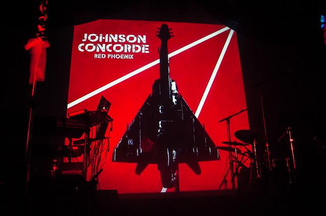 Johnson Concorde - 13 mars 2015 - Le Temps Machine - Joué lès Tours