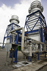 Azito 288 MW gas-fired generation facility in Cte dIvoire uses natural gas supplied from the countrys offshore gas fields. (Power Africa) Tags: poverty africa industry electricity production powerplant ci 2010 ctedivoire abidjan endpoverty subsaharanafrica yopougon azito cedricfavero thermicpowerplant cedricfaverocom azitoenergie globeleq powerafrica poweringafrica