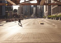 Good morning, Chicago! (Kenny C Photography) Tags: shadow sun sunlight chicago sunshine sunrise morninglight illinois streetphotography wackerdrive downtownchicago windycity kennycphotography