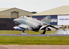 Phantom (Bernie Condon) Tags: uk tattoo plane greek flying fighter display aircraft aviation military airshow douglas bomber f4 warplane airfield ffd fairford mcdonnell riat haf 2016 phantomii raffairford airtattoo hellenicairforce riat16
