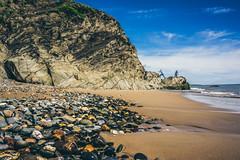 (Ails N hgeartaigh) Tags: world ireland sea summer seascape beach rock landscape europe earth stones pebbles 2016