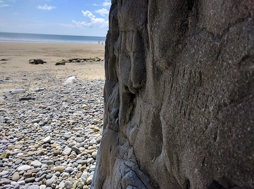 Caves of Pendine Beach