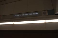 WTC PATH Station Signing (T.C.M.) Tags: new york city nyc path train wtc newark panynj transit rail
