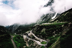 Dream Road #2 (NIOphoto.) Tags: road summer cloud mountain alps green fog clouds schweiz switzerland nice nikon mood bend strasse dream pass tokina bern alpen curve grimsel d5200