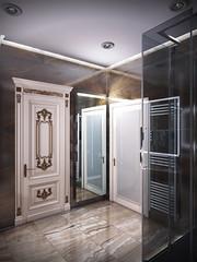17 (Uberkoly) Tags: render 3drender coronarender visualisation modernrestroom modeling bathroom