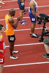 Don't mess with me! (rikbuitenwerf) Tags: amsterdam championship athletics european stadium ek olympic stadion olympisch atletiek 2016 europese kampioenschap ech kampioenschappen ech2016