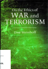 Uwe Steinhoff, On the ethics of war and terrorism (bibliofilosofiamilano) Tags: copertina etica guerra