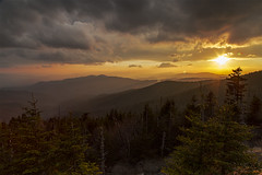 Clingman's Dome Sunset (i_am_durin) Tags: durinsday canon6d northcarolina northcarolinamountains clingmansdome tennessee sunset canon24105f4 l ll