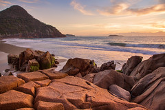 Zenith Beach || PORT STEPHENS || NEW SOUTH WALES (rhyspope) Tags: new sunset sky pope beach nature wales port sunrise canon bay coast rocks south australia nelson coastal nsw 5d aussie stephens rhys zenith mkii shoal rhyspope