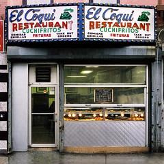 El Coqui Restaurant in El Barrio, East Harlem. (James and Karla Murray Photography) Tags: harlem storefrontthedisappearingfaceofnewyork storefront stores storefronts storefrontthedisappearingface