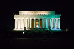 Lincoln Memorial at Night (Diacritical) Tags: washington washingtondc august72016 leicacameraag leicamtyp240 summiluxm11435asph f14 sec centerweightedaverage lincolnmemorial abrahamlincoln memorial night